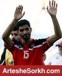 حواشی پیش از بازی: انصاری با سر بانداژ شده گرم کرد/ طارمی و مسلمان با هم به سمت هواداران رفتند