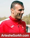حسینی: به پرسپوليس فكر مي كنم نه خداحافظي از فوتبال