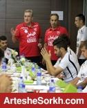 جشن پرسپولیسی ها در هتل المپیک/ نوراللهی در آغوش طاهری!