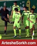 گزارش تمرین تیم ملی: صحبت های اختصاصی سرمربی با 2 بازیکن/ تمرکز تمرینات روی پاس های عمقی