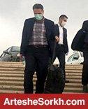 حاشیه دربی: ورود تیم داوری به ورزشگاه آزادی