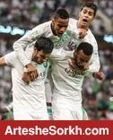 توزیع رایگان بلیت در خارج از ورزشگاه سلطان قابوس برای هواداران الاهلی