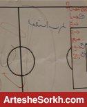 بازیکنان پرسپولیس خواستار استعفای عرب + عکس