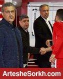 نشست عرب و برانکو در اردوی تیم