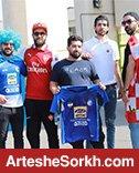 حاشیه دربی: حضور هواداران مقابل ورزشگاه