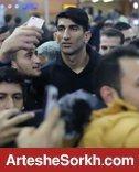 بیرانوند با استقبال هواداران به ایران بازگشت