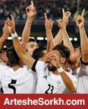 نفر به نفر ایران در بازی مقابل کره جنوبی