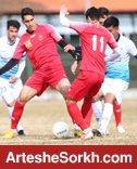 پیروزی پرسپولیس مقابل تیم ملی جوانان در بازی دوستانه