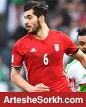 عزت اللهی تنها محروم دور اول جام جهانی