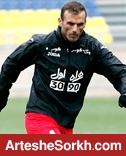 سیدجلال حسینی از سوی بازیکنان سورپرایز شد