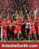 پرسپولیسی ها کاپ قهرمانی جام حذفی را بالای سر بردند