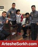 حضور هانی نوروزی در اردوی تیم + عکس
