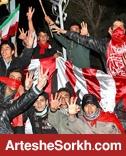 حواشی دیدار: انفجار در جایگاه خبرنگاران!/ تشویق مرحوم پورحیدری در دقیقه ۲۹