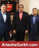 دیدار هیات مدیره پرسپولیس با وزیر