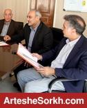اعضای هیأت مدیره به دیدار بازیکنان رفتند/ جلسه هیأت مدیره در ورزشگاه کاظمی