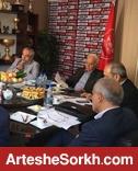 برگزاری جلسه هیئت مدیره پرسپولیس در محل تمرین سرخپوشان