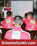 جلسه ویژه گرشاسبی، برانکو و پیروانی با بازیکنان