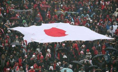 معجزه دشمنی؛ پرچم ژاپن من کو؟!