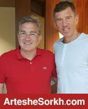 دیدار کاتانیچ با برانکو در اردوی پرسپولیس