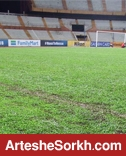 حواشی پیش از بازی: هوای آفتابی سرمبان و سکوهای خالی ورزشگاه / استقرار مسئولان برگزاری بازی در عبدالرحمن
