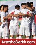 تمرین گلزنی شاگردان اسکوچیچ برای بازی با عراق