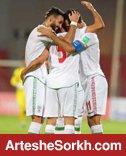 گلزنی پرسپولیسی ها با بازوبند کاپیتانی برای تیم ملی