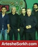 حضور پیوس،عالیشاه و رهبری فرد در هیئت پروین+عکس