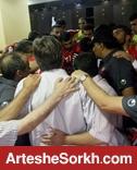 بازیکنان پرسپولیس یاد شهید مدافع حرم را زنده نگه داشتند+ عکس