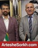 رئیس فدراسیون سوریه در باشگاه با سمیعی دیدار کرد