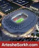 رختکن استادیوم جام جهانی آماده میزبانی از قهرمان ایران