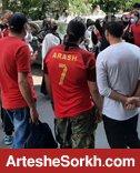 تجمع هواداران پرسپولیس در مقابل فدراسیون + عکس