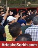 تجمع هواداران مقابل مجلس شورای اسلامی