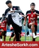 گزارش تمرین: حسینی در تمرین شرکت نکرد/ برانکو ترکیب های مختلف را امتحان کرد