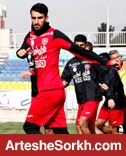 گزارش تمرین: غیبت طارمی و انصاری/ حضور ستاره سینما و تمرینات اختصاصی یک بازیکن