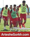 گزارش تمرین: حضور ملی پوشان و خوش آمدگویی به بازیکن جدید