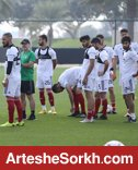 گزارش تمرین تیم ملی: آزمون بازهم تمرین نکرد!