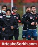 گزارش تمرین؛ برنامه اختصاصی 3 بازیکن زیر نظر کادر پزشکی