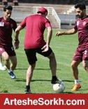گزارش تمرین؛ حضور پیشکسوت تیم و تمرین اختصاصی دو سرخپوش