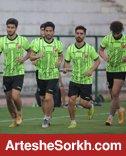 تمرین پرسپولیس در چمن مصنوعی کمپ تیم های ملی
