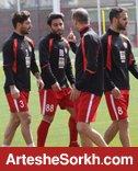 گزارش تمرین: بازگشت مصدومین و حضور مهمان کرمانشاهی