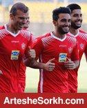 گزارش تمرین: فوتبال تاکتیکی در دستور کار شاگردان کالدرون