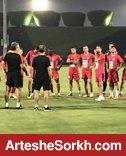 تمرین آخر پرسپولیس در دبی برگزار شد