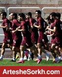 گزارش تمرین؛ دروازه بانی گل محمدی و تمرین اختصاصی بشار