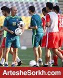 گزارش تمرین: تنیس فوتبال در دستور کار سرخ پوشان