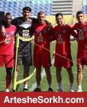 گزارش تمرین: تمرین فوتبال با سه دروازه