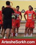 ادامه تمرینات در ورزشگاه شهید کاظمی دنبال میشود