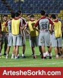 اولین تمرین پرسپولیس در قطر برگزار شد