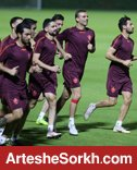 آخرین تمرین پرسپولیس در قطر برگزار شد