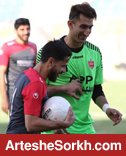 گزارش تمرین: فوتبال درون تیمی در حضور دوباره بیرانوند