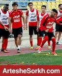 گزارش تمرین: تمرین دو مرحله ای بازیکنان؛ احمدزاده و ماهینی اختصاصی تمرین کردند